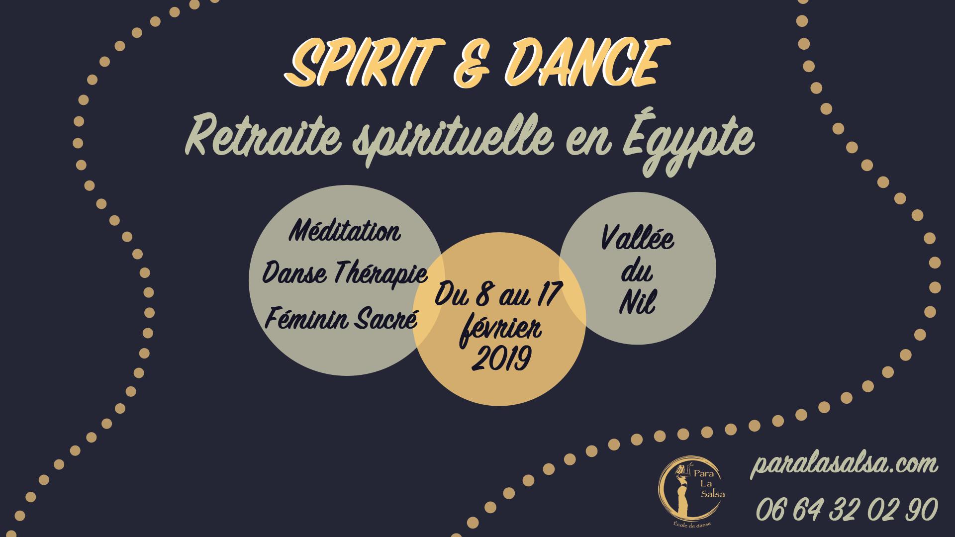 Retraite spirituelle en Égypte