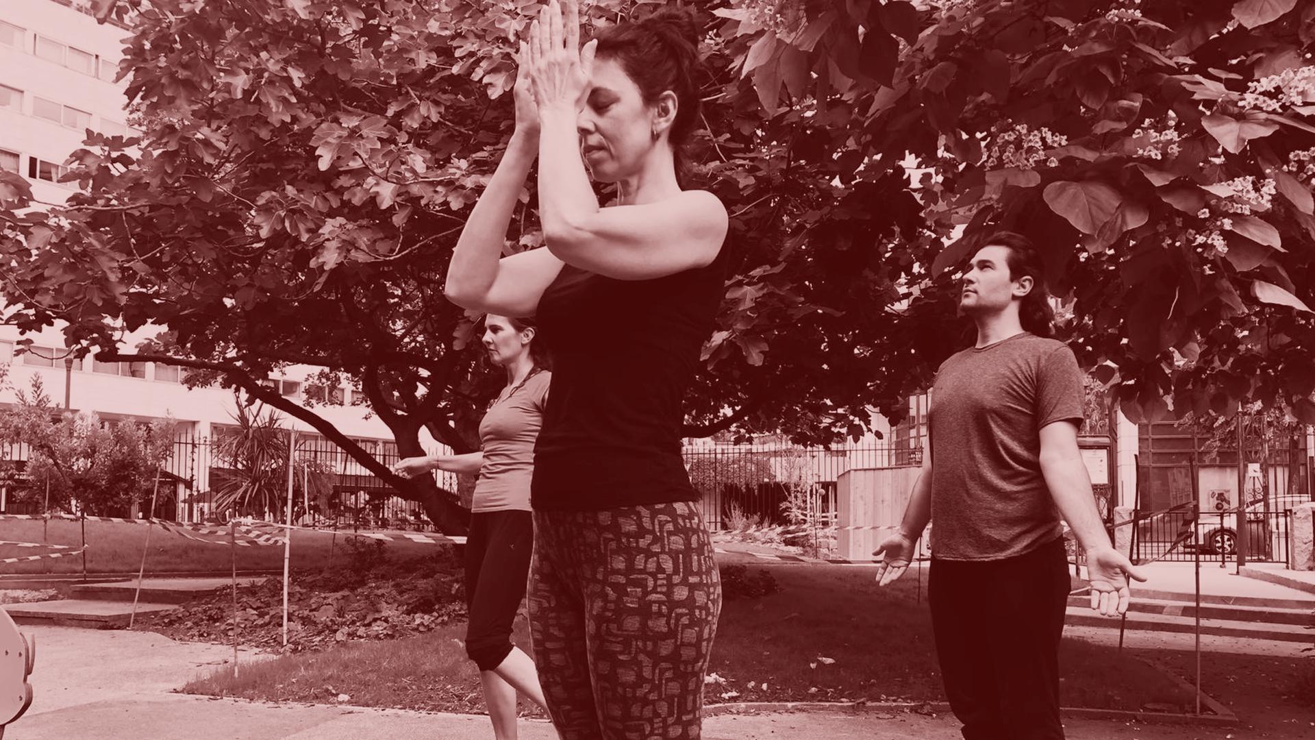 Premier cours de danse thérapie