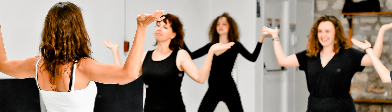 yoga dansé para la salsa
